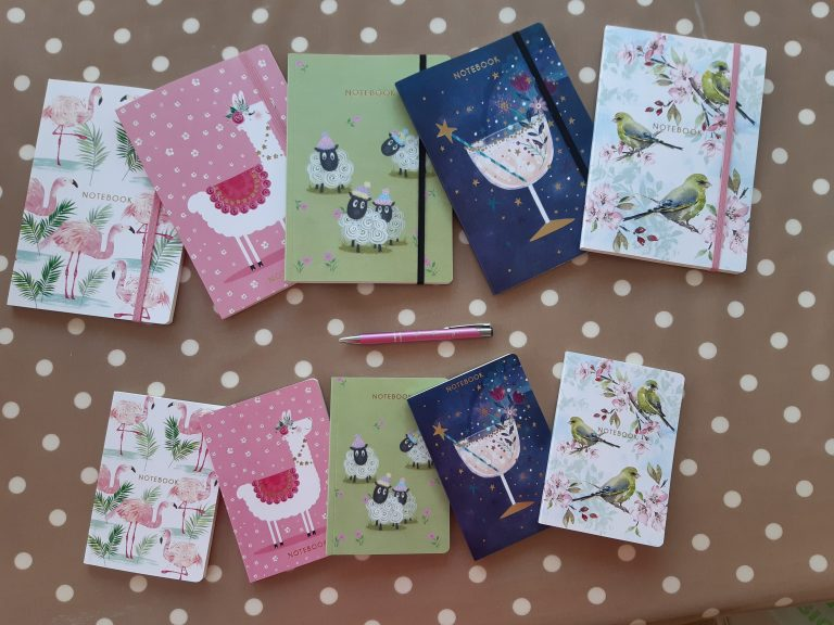 A5 & A6 Notebooks with different designs